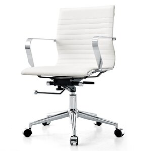 modern white office furniture. perfect office midback vegan leather office chair in modern white furniture i