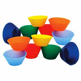 Mini Muffin Silicone Baking Cup (Set of 12)