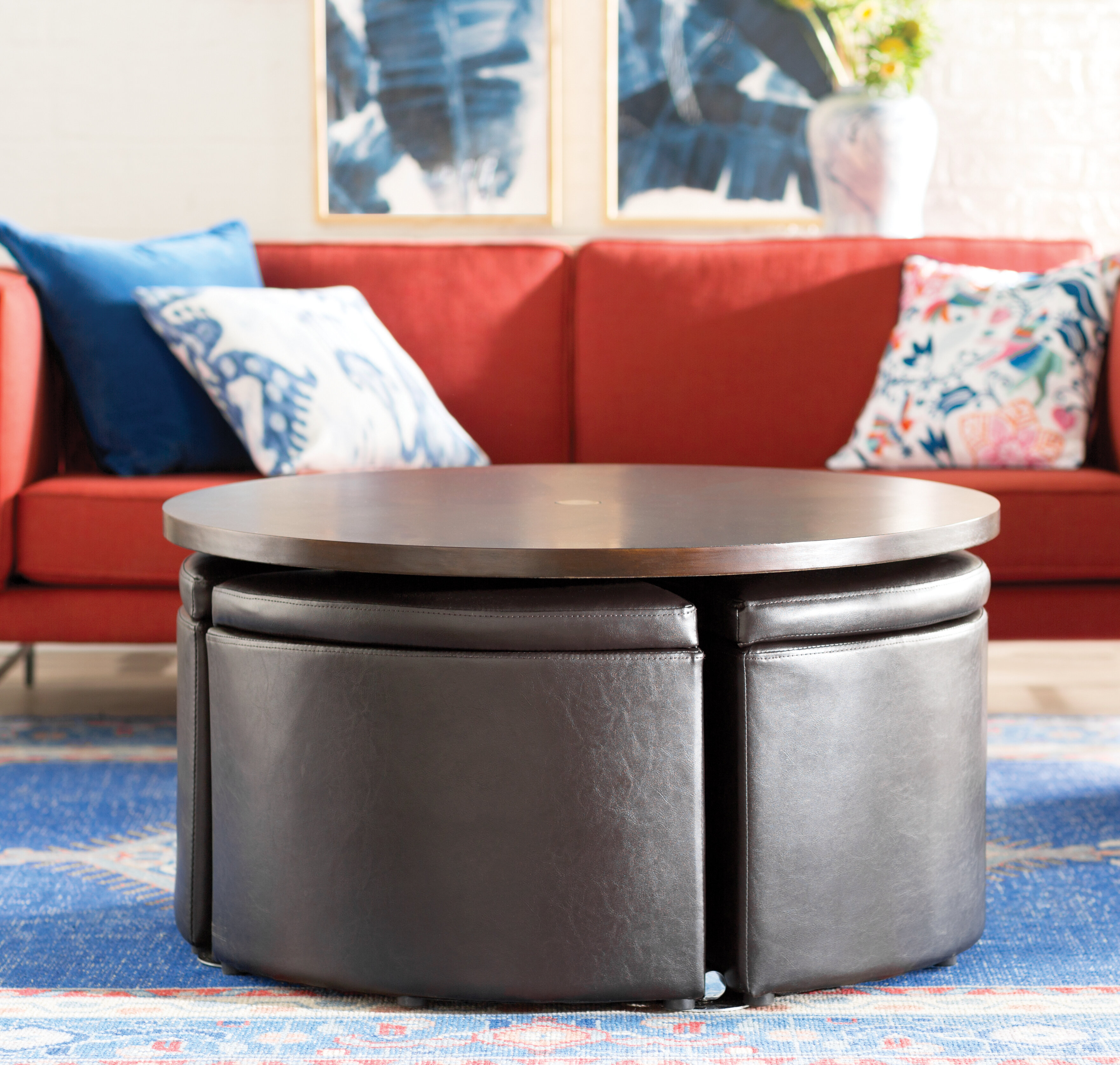 Acrylic Coffee Tables You Ll Love Wayfair # Table Tv Simple A Petit Prix
