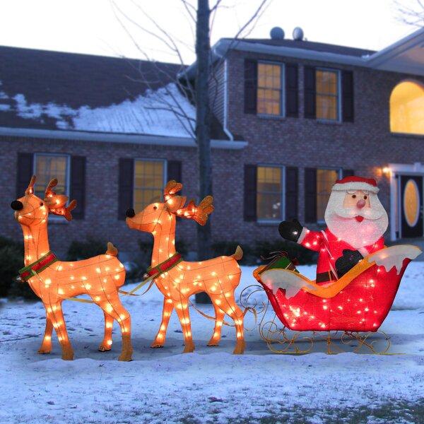 Christmas Horse And Sleigh Wayfair