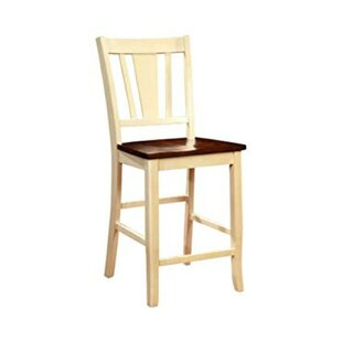 Moon Transitional 22.75 Bar Stool (Set Of 2) by Winston Porter Today Only Sale