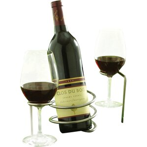 1 Bottle Tabletop Wine Rack (Set of 2) by..