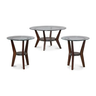 Creasy 3 Piece Coffee Table Set by Darby Home Co