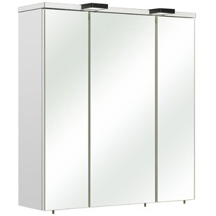 Belgrad 65 X 70cm Mirrored Wall Mounted Cabinet By Quickset