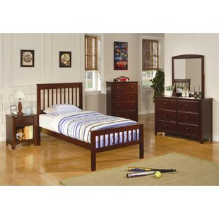 Price comparison Perry Twin Slat Bed by Wildon Home® Reviews (2019) & Buyer's Guide