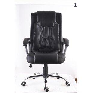 Symple Stuff High Back Executive Ergonomic Office Chair