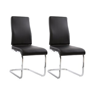 Enrico Upholstered Dining Chair (Set Of 2) By Home Loft Concept