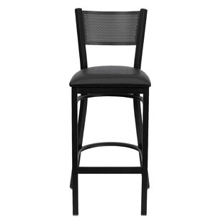 Barker Series 30.25 Bar Stool (Set of 2) Red Barrel Studio