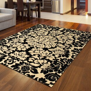 Find Weisgerber Black Area Rug By Astoria Grand