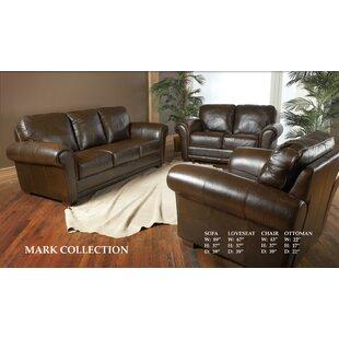 Buda Leather Configurable Living Room Set
