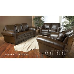 Affordable Buda Leather Configurable Living Room Set by Williston Forge Reviews (2019) & Buyer's Guide