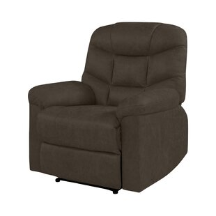 Donoho Manual Wall Hugger Recliner by Winston Porter