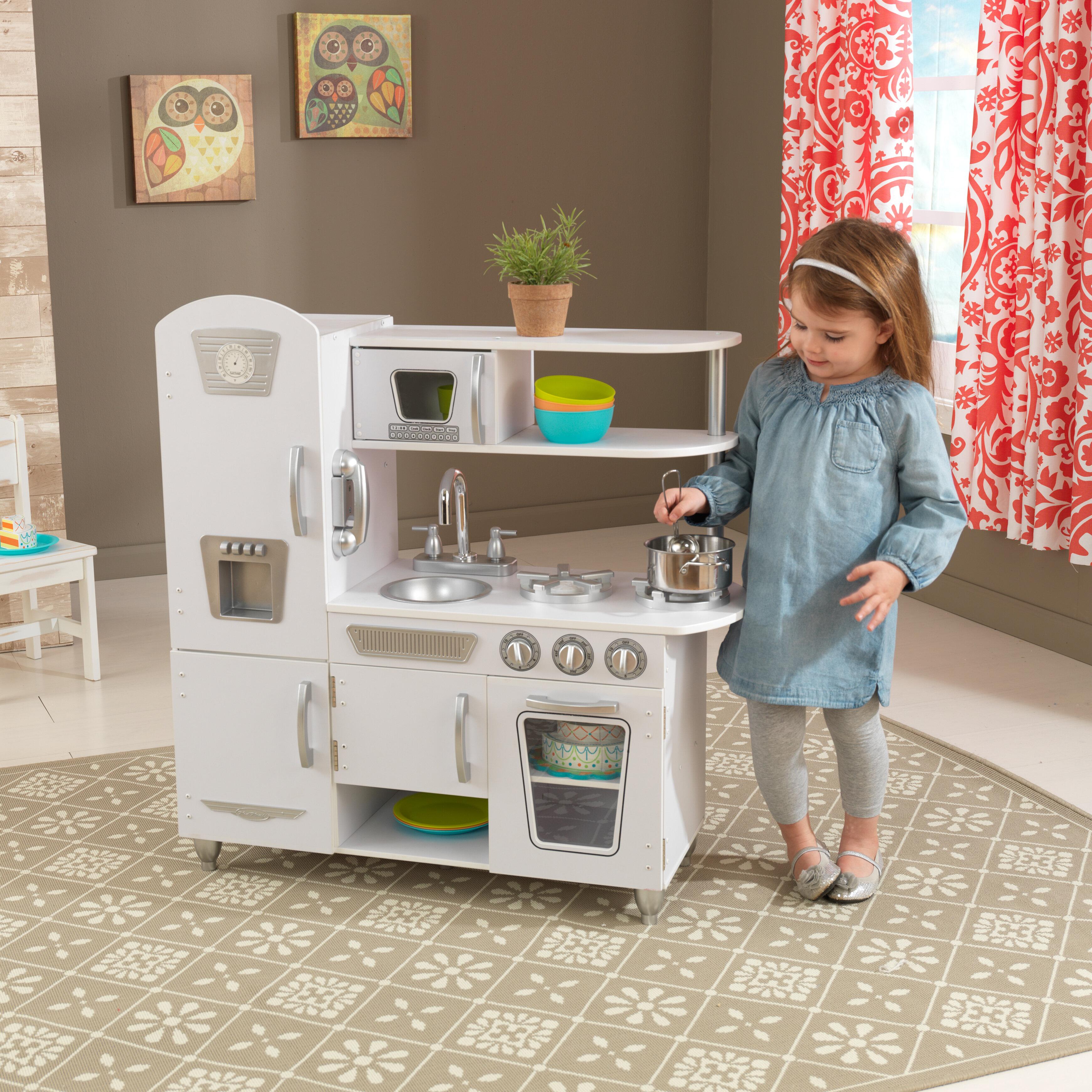 Kidkraft vintage kitchen set reviews wayfair ca