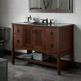 Marabou™ 48 Vanity Base Only with 2 Doors and 4 Drawers, Split Top Drawers byKohler