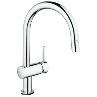 Grohe Minta Pull Down Touch Single Handle Kitchen Faucet with SilkMove®