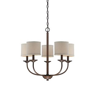 Steuben 5-Light Shaded Chandelier by Red Barrel Studio