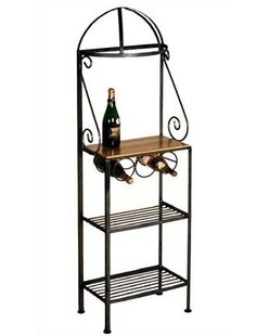 Grace Collection Gourmet Wrought Iron Baker's Rack