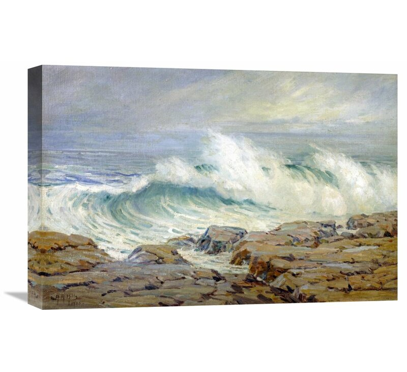 Incoming Tide     by Guy Rose   Giclee Canvas Print Repro