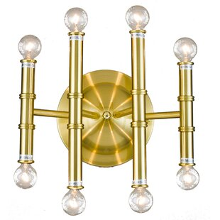 Best Reviews Galante 8-Light Wall Sconce By Everly Quinn