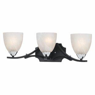Reviews Crofoot 3-Light Bell Vanity Light By Red Barrel Studio