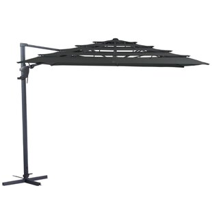 Anthony 3m Square Cantilever Parasol By Freeport Park