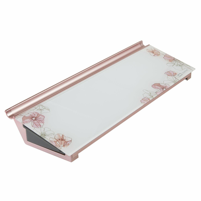 Quartet Floral Frameless Dry Erase Computer Desk Pad Wayfair