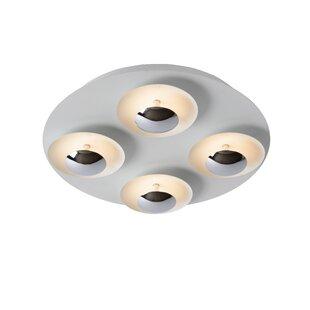Amine 5-Light LED Semi Flush Mount by Lucide