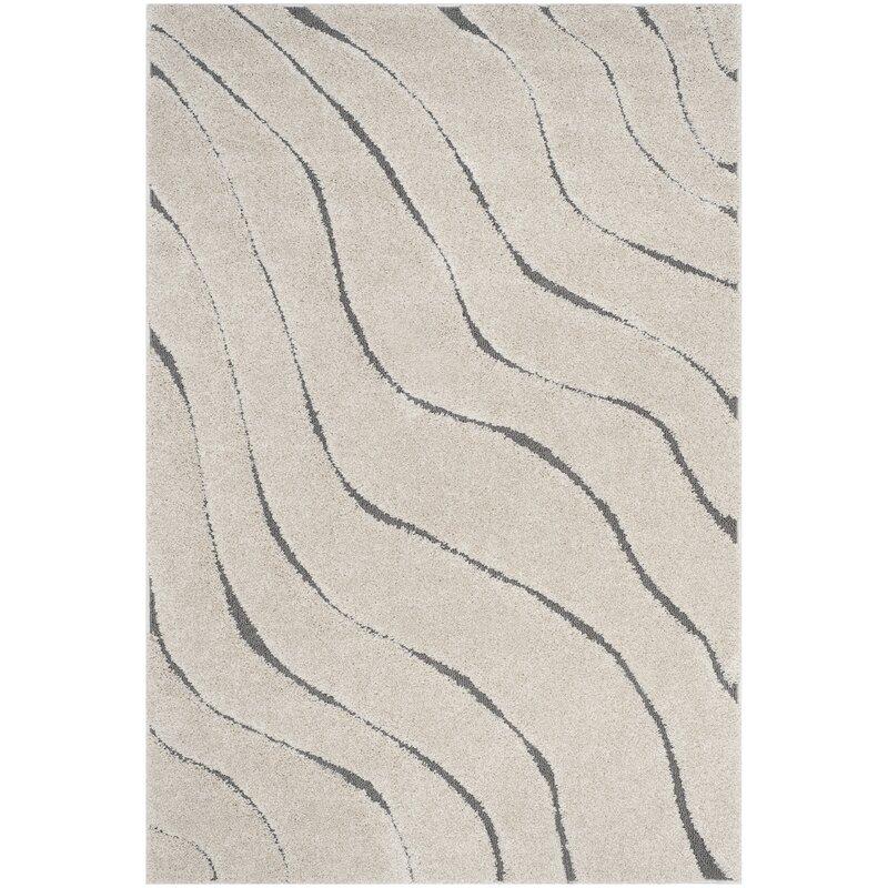 Zipcode Design Enrique Cream/Gray Area Rug