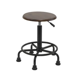 Retro Height Adjustable Height Stool