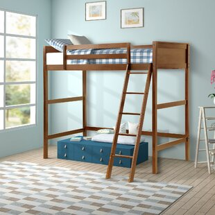 Alicea Twin Loft Bed by Harriet Bee #1