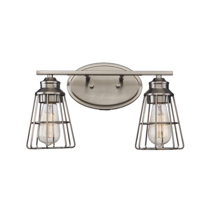 Trent Austin Design Blas 2 Light Dimmable Vanity Light Reviews Wayfair