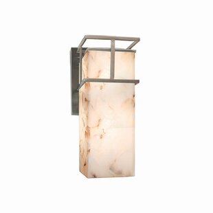 Reviews Conovan 1-Light Outdoor Sconce By Rosecliff Heights