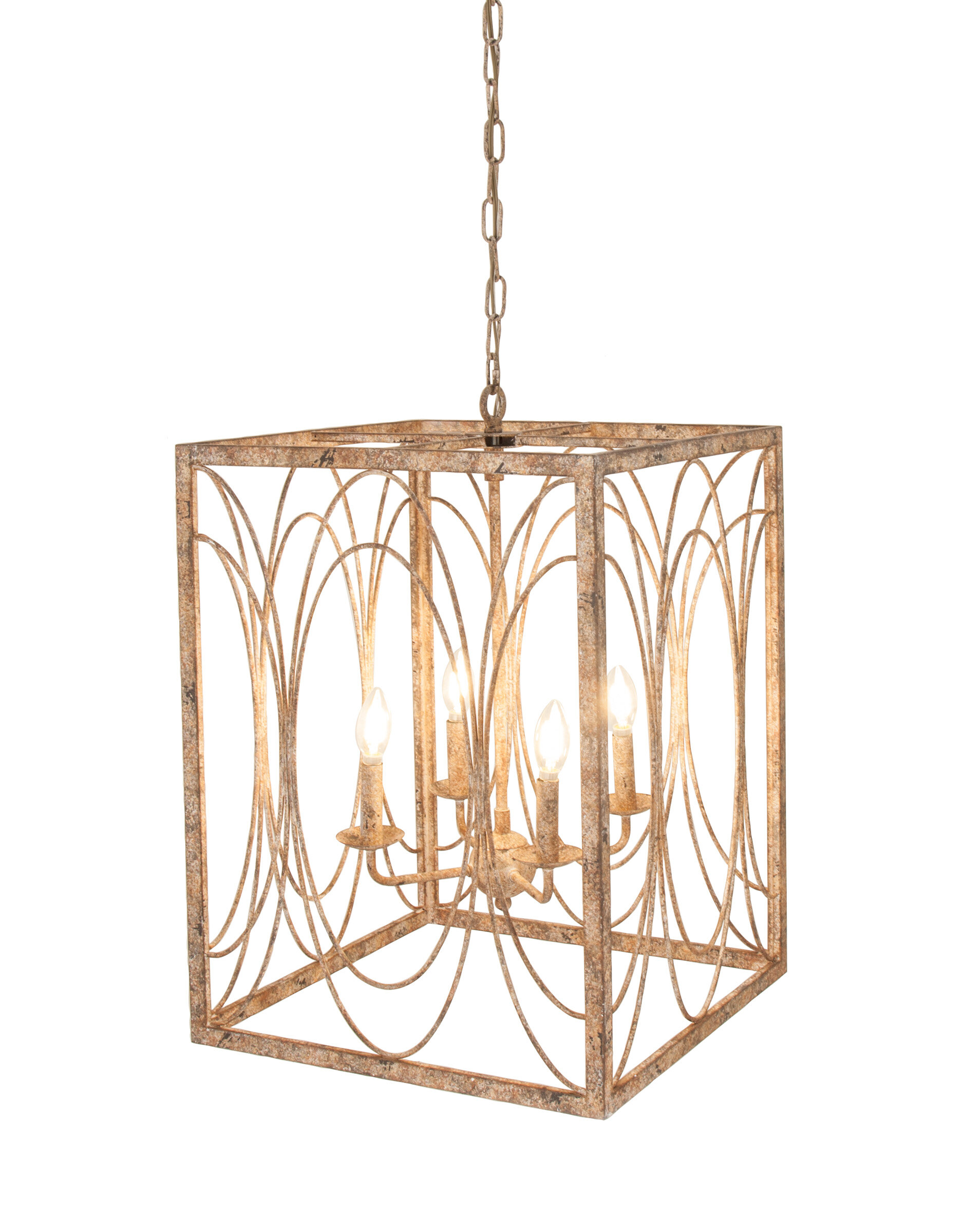 Kelly Clarkson Home Troutt Candle Style Square Rectangle Chandelier Reviews Wayfair