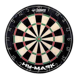 Hy Mark Bristle Dartboard By Triumph Sports USA