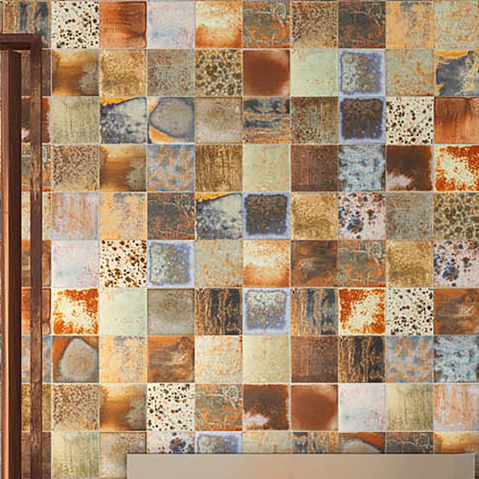 Elitetile Honesty 7 75 X Porcelain Tile In Orange Beige Reviews Wayfair
