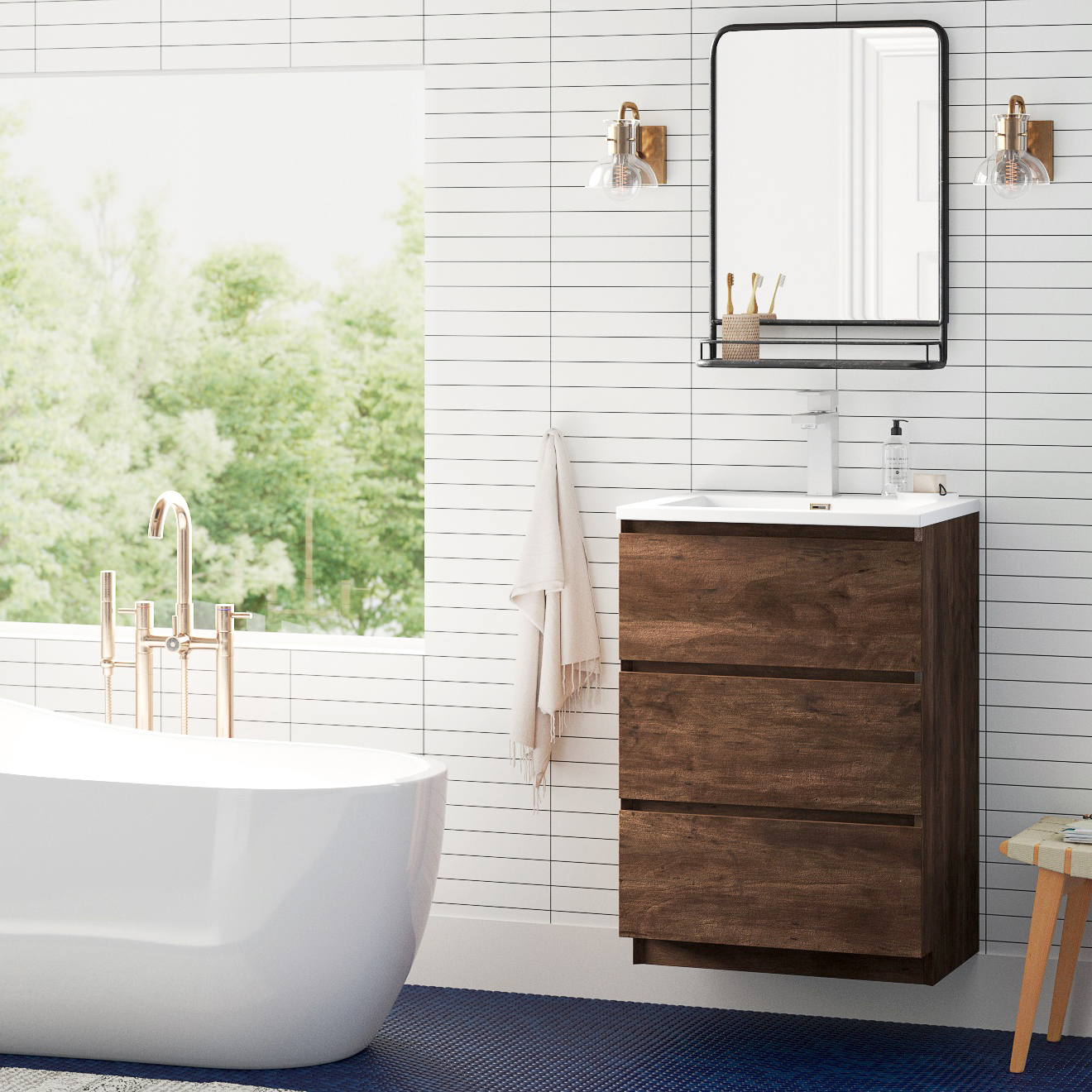 Modern Bathroom Fixtures Allmodern