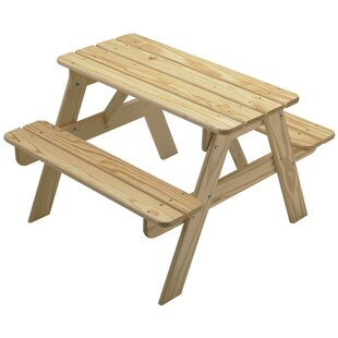 Kids Picnic Table Wayfair - Polywood kids picnic table