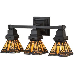 Meyda Tiffany Sierra Prairie Mission 3-Light Vanity Light