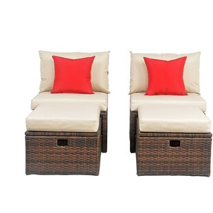 Red Barrel Studio Buchholtz Patio Chair w..