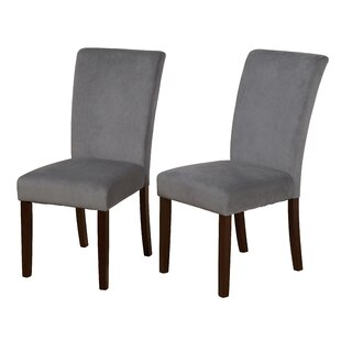 Ignacio Parson Upholstered Dining Chair (Set Of 2) by Red Barrel Studio 2019 Sale