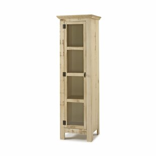Colvard Reclaimed Glass 1 Door Accent Cabinet by Gracie Oaks