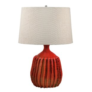 Corrigan Studio Montecito Ribbed Terra Cotta LED 24