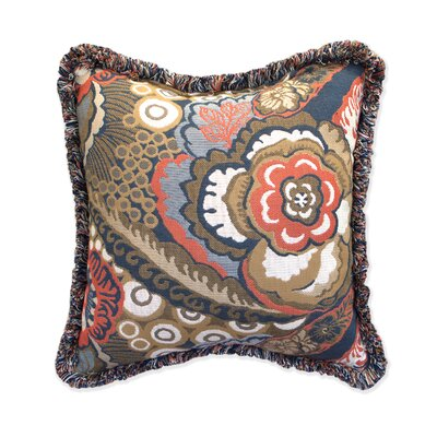 Leandra Indoor / Outdoor Floral Throw Pillow by Inspired Visions Design
