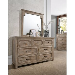 Tyne 7 Drawer Dresser with Mirror