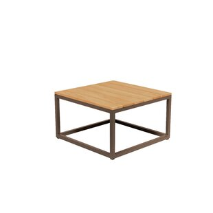 Emsworth Teak/Aluminium Lounge Table By Sol 72 Outdoor