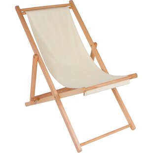 Cabana Reclining Beach Chair by Trademark Innovations