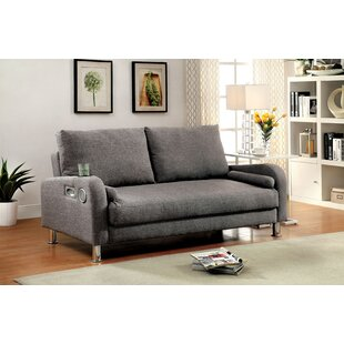 Latitude Run Molly Futon Convertible Sofa