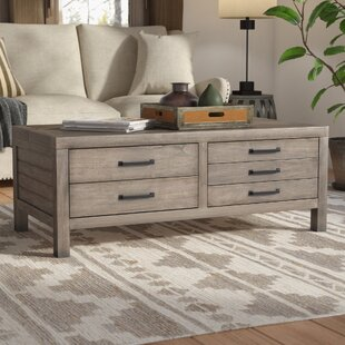 Union Rustic Brianne Lift Top Coffee Table