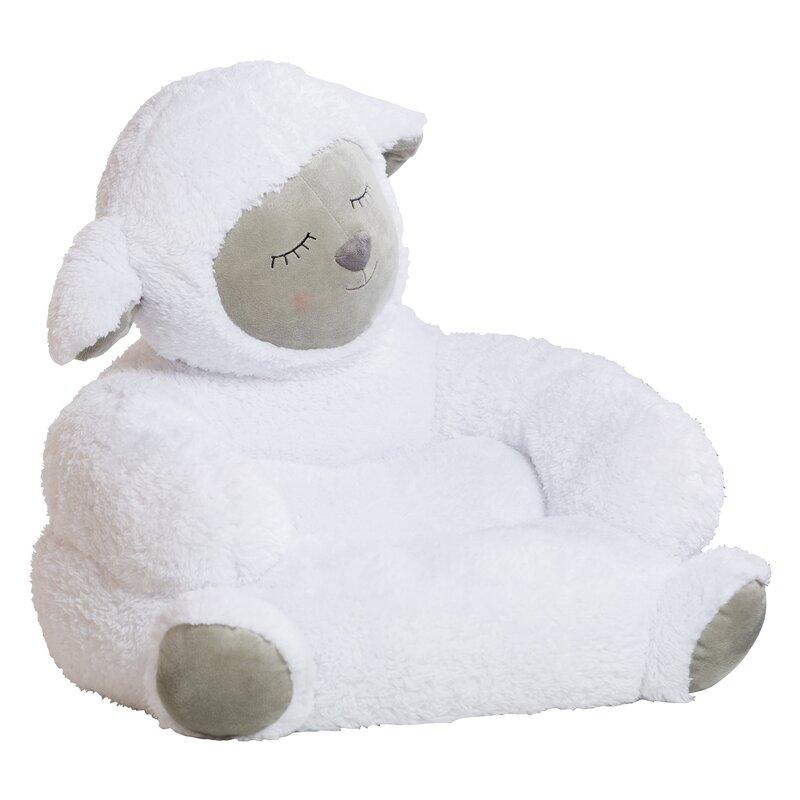 Trend Lab Lamb Plush Character Childrenu0027s Chair