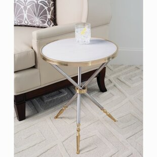 Campaign End Table by Global Views